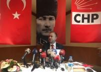 SEYIT RıZA - Eski İstanbul Barosu Başkanı Ümit Kocasakal, CHP Genel Başkanlığı Adaylığını Açıkladı