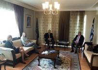 SCHENGEN - ETSO'dan Yunanistan Başkonsolosluğuna Ziyaret