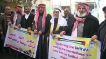 SİVİL TOPLUM - Gazzeliler 'ABD'nin Yardımları Askıya Almasını' Protesto Etti