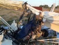 EĞİTİM UÇAĞI - Isparta'da askeri eğitim uçağı düştü: 3 şehit