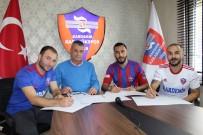 BATMAN PETROLSPOR - Karabükspor, 3 Oyuncuyla Resmi Sözleşme İmzaladı