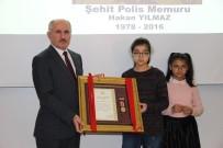 Karaman'da Şehit Polis Memurunun Devlet Övünç Madalyası Kızlarına Verildi