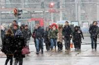 Kayseri Ve Niğde'de Kar Yağışı