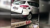 Kaza Yapan Otomobil Restorana Girdi