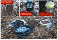 DİYARBAKIR VALİLİĞİ - Lice'de 18 Sığınak Ve 1 Mağara İmha Edildi