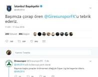 Medipol Başakşehir'den A.Ç Giresunspor İçin Esprili Paylaşım