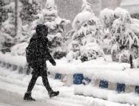 SU BASKINI - Meteoroloji'den kuvvetli sağanak ve kar yağışı uyarısı