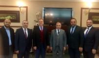 VURAL KAVUNCU - Milletvekili Vural Kavuncu'dan Tebrik Ziyareti