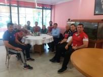 A MİLLİ TAKIMI - Musa Aydın'dan Greko-Romen Milli Takımı'na Ziyaret