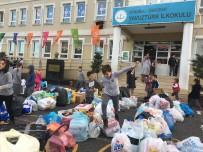ÜSKÜDAR BELEDİYESİ - Öğrenciler Evlerinden Ve Sokaklardan 2 Ton Atık Topladı