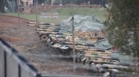 ASKERİ ARAÇ - Tanklar Ve Zırhlı Askeri Araçlar Afrin İçin Hazır Kıta