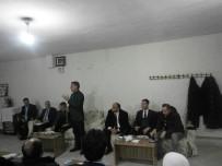 MEHMET ALİ ÖZKAN - Tatvan'da 'Halk' Toplantısı