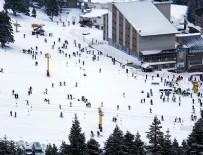 METEOROLOJI - Uludağ'da kar kalınlığı bir metreyi aştı