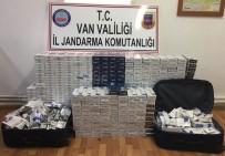 BAHÇELİEVLER - Van'da Kaçak Sigara Operasyonu