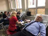 KAN BAĞıŞı - Yayla Ortaokuldan Kan Bağışı