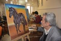 YILDIRIM BELEDİYESİ - YIL-MEK'li Ressamların Eserleri Göz Kamaştırıyor
