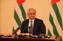 GÜNEY OSETYA - Abhazya Cumhurbaşkanı Hacımba Açıklaması 'Görevimin Başındayım'