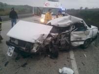 Adana'da Trafik Kazası Açıklaması 1 Ölü, 1 Yaralı