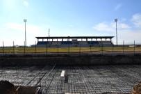 Adıyaman Üniversitesi Stadyumuna İkinci Tribün Yapılıyor