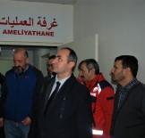 SAĞLIK HİZMETİ - Afrin Operasyonu Öncesinde Sınır Ötesindeki Hastanelerde Hazırlıklar Hızla Devam Ediyor