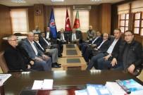 AK Parti Heyeti Teksif Yönetimiyle Bir Araya Geldi