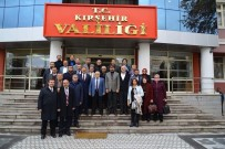MUZAFFER ASLAN - AK Parti İl Yönetimi Vali, Belediye Başkanı Ve Emniyet Müdürünü Ziyaret Etti