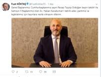 HAKAN KARADUMAN - AK Parti Samsun İl Başkanlığı'na Karaduman Atandı