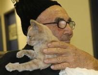 Ali Dede kedisine kavuştu