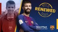 EURO - Barcelona Pique'nin sözleşmesini uzattı