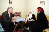 ALLAH - Başkan Çelik Ve Eşi YADES Hizmeti Alan Yaşlıları Evlerinde Ziyaret Etti