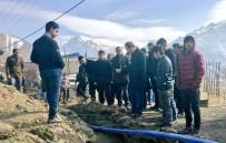 GAZİ MAHALLESİ - Başkan Vekili Epcim, Çalışmaları Denetledi