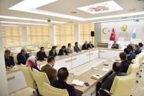 ŞEYH EDEBALI - Bilecik Belediyesi Haftalık İstişare Toplantısı Yapıldı