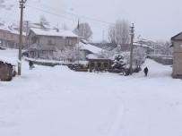 KAR TOPU - Bingöl'de Kar, 278 Köy Yolunu Kapattı, Yedisu'da Okullar Tatil Edildi