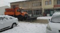 Çelikhan İlçesinde Kar Yağışı Etkisini Sürdürüyor