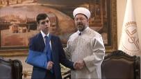 DIYANET İŞLERI BAŞKANLıĞı - Diyanet İşleri Başkanı Erbaş, Cüneydi'yi Kabul Etti