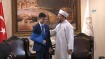 DIYANET İŞLERI BAŞKANLıĞı - Diyanet İşleri Başkanı Erbaş, Filistin Direnişinin Simgesi Cüneydi'yi Kabul Etti