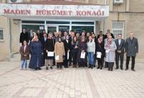 Elazığ'da Çiftçilere Sertifika Verildi