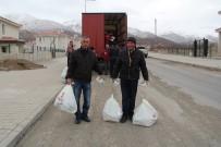 AHISKA - Erzincan Türk Kızılayından 570 Ahıskalı Aileye Gıda Yardımı