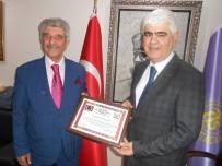 ESKİŞEHİR - ESKÜDER'den Tuhafiyeciler Odası Başkanı Sefa Şen'e ''Hayırlı Olsun'' Ziyareti
