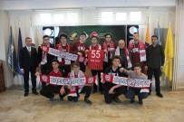 SAMSUNSPOR - Final'den Samsunspor'a Destek