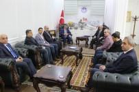 KAMU GÖREVİ - Gazeteciler Başkan Gürkan'a Hayırlı Olsun Ziyaretinde Bulundu