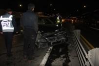 SAĞLIK EKİBİ - Haliç Köprüsü'nde Kaza Açıklaması 2 Yaralı