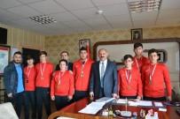 AHMET EREN - Halterci Çocuklar Erzurum'u Temsil Edecek