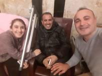 MEHMET KARA - Haluk Levent'ten Omurilik Hastası Bilge'ye Moral Ziyareti