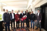 HIZMET İŞ SENDIKASı - Harun Mutlu'dan Başkan Başsoy'a Ziyaret