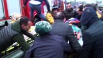 İTFAİYE ERİ - Kazada Ağır Yaralanan Sürücünün Telefonuna İtfaiye Eri Baktı