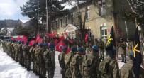 Mehmetçikler Sınıra 'Genç Osman' Marşıyla Uğurlandı