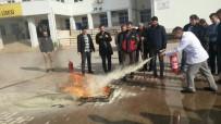 Okul Personellerine Yangın Eğitimi Verildi