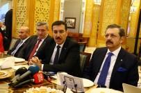 İŞ GÖRÜŞMESİ - 'Saadet Zinciri Gibi Çalışıyorlar'