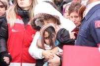 YıLMAZ BÜYÜKERŞEN - Şehidin annesi cenazede fenalaştı, kızının gözyaşları yürek dağladı